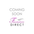 Small Sinamay Flower Mustard Fascinator Hair Clip