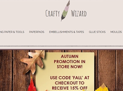https://www.craftywizard.co.uk/ website
