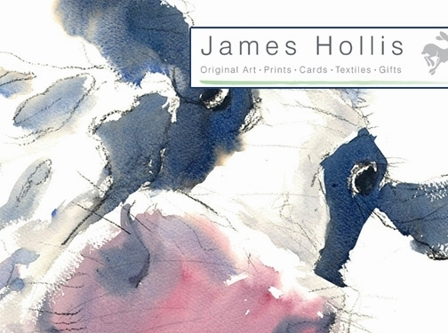 https://www.jameshollisart.co.uk/ website